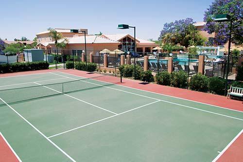 Scottsdale Villa Mirage Tennis Court Arizona Spring